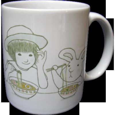 似顔絵マグカップ2