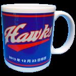 レッドホークス記念マグカップ