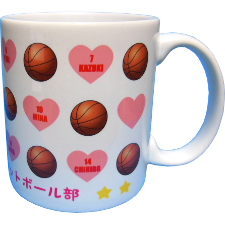 有明中学校女子バスケットボール部卒業記念2