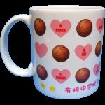 有明中学校女子バスケットボール部卒業記念