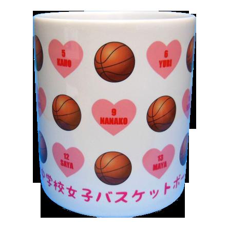 有明中学校女子バスケットボール部卒業記念3