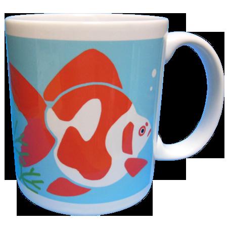 金魚マグカップ