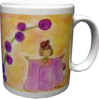 晴れ‐green berry mug4