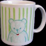 くまのマグカップ