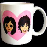 母に贈るマグカップ