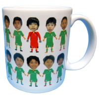 Jフィールド岡山FC 7期生卒業記念マグカップ2