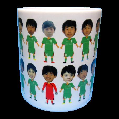 Jフィールド岡山FC 7期生卒業記念マグカップ3