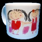 手書きマグカップ