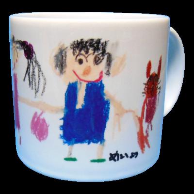 手書きマグカップ2