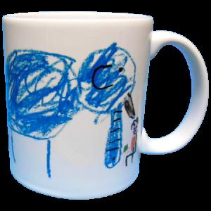 弟のマグカップ