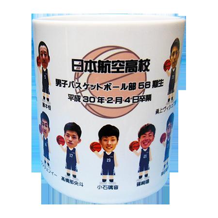 日本航空高校男子バスケットボール部56期生