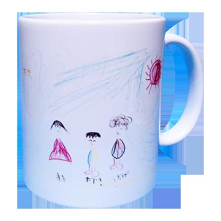 親子3人のマグカップ2